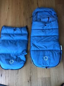 Bugaboo High Performance Foot Muff (Ice Blue) *Immaculate Condition*