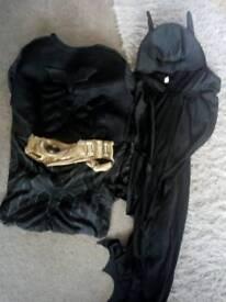 The dark Knight costume age 10 or small man