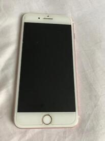 Unlocked, iPhone 7 Plus 128gb + case charger, Rose Gold, Excellent condition