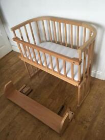 Babybay original co-sleeper cot natural