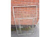 2x Van side door dog cage extention