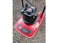 As New Honda Toro Hoverpro 400 Petrol Hover Mower + Manuals