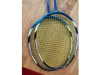 2x victor bravesword 12 badminton racket