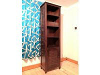 Bentley Designs tall shelving unit, Indian/Moroccan influenced