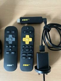 Now tv boxes wireless & wired
