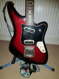 1960s / 70s Commodore Aria 1532 jaguar vintage guitar