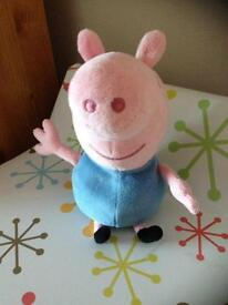 Small beanie George pig