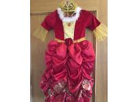 Disney Beauty & the Beast Belle costume Dressing up Dress Age 4-5 years