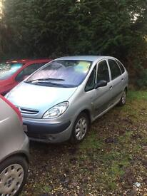Y reg citreon picasso diesel £495 51 reg citreon picasso petrol new clutch £595