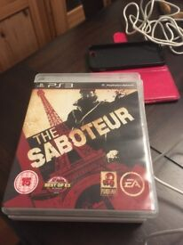 PS3 The Saboteur game