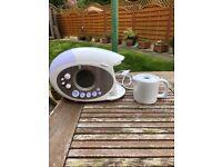 Swan Teasmade with ceramic teapot