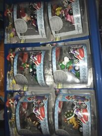 Mario yoshi bowser etc figures and karts
