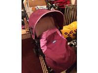 Purple chicco pushchair £35ono!