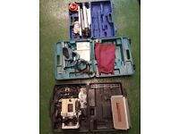 Power Tools (x3) For Sale, Job Lot