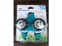 Two hosepipes one tap timer NEW SEALED