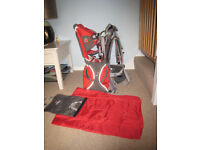 Little Life baby carrier Voyager S2 with rucksack and change mat