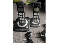 Bt twin cordless digital home phones