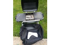 Portable Folding BBq for Home or Camping With Bag & Instructions