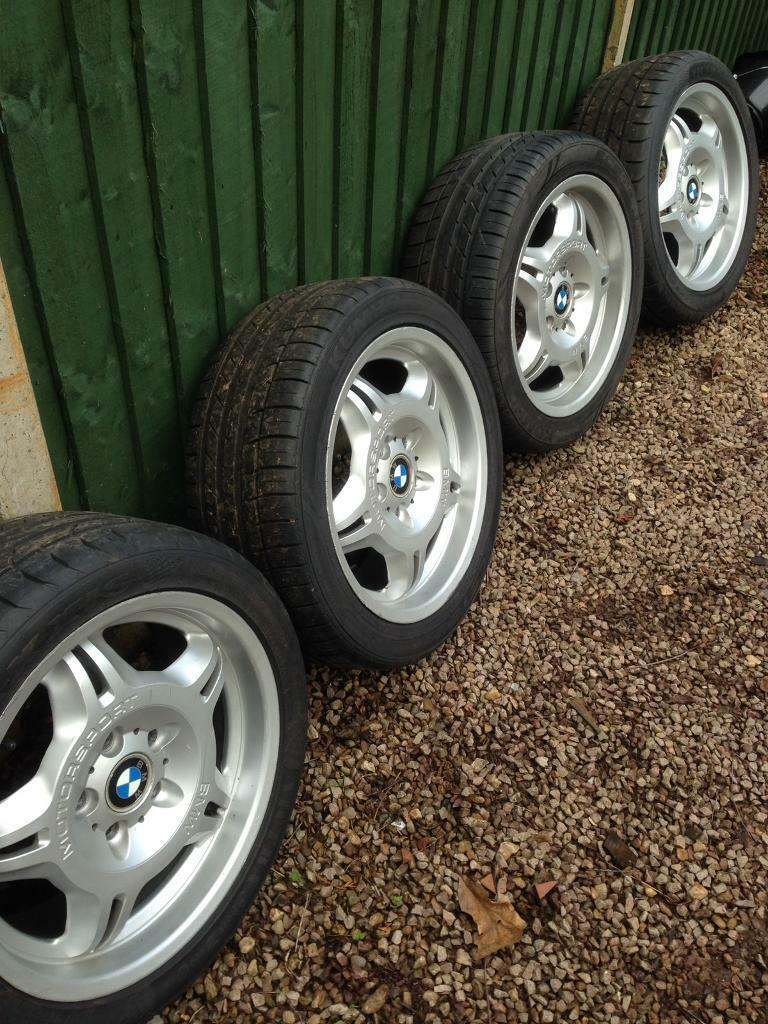 Bmw E36 M3 17 Quot Genuine Style 24 Alloy Wheels In