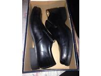 Huckley Tough Black Shoes New.