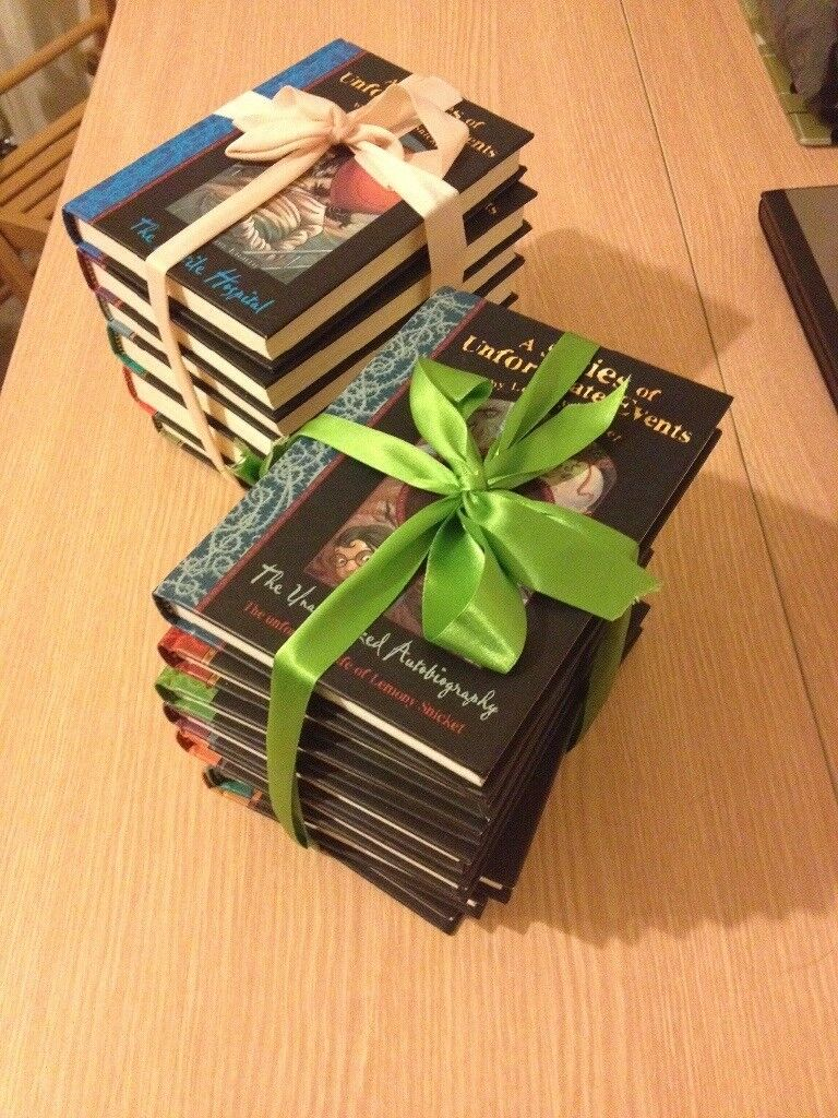 A Series Of Unfortunate Events full set of books