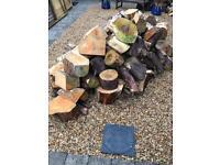 Softwood Logs wood burner / fire pit / chimnea