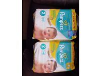 Pampers new baby 2x 68 packs unopened