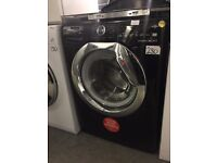 Hoover Dynamic Next One Touch DXOA610HCB 10kg Load, 1600 Spin Washing Machine - Black REDUCED