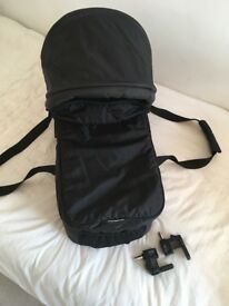 Baby Jogger carrycot and adapters