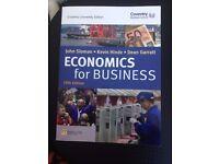 Economics for Business by John Sloman, Kevin Hinde & Dean Garrat 5th Edition Book
