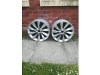 Genuine VW Interlagos turbine alloy wheels