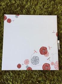 Dry wipe board
