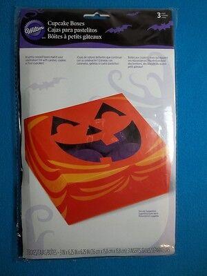 Wilton Halloween Cupcake Boxes (Wilton Cupcake Boxes Halloween Set Of 3 - New - Never)