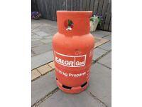 Empty 13.15kg calor gas bottle