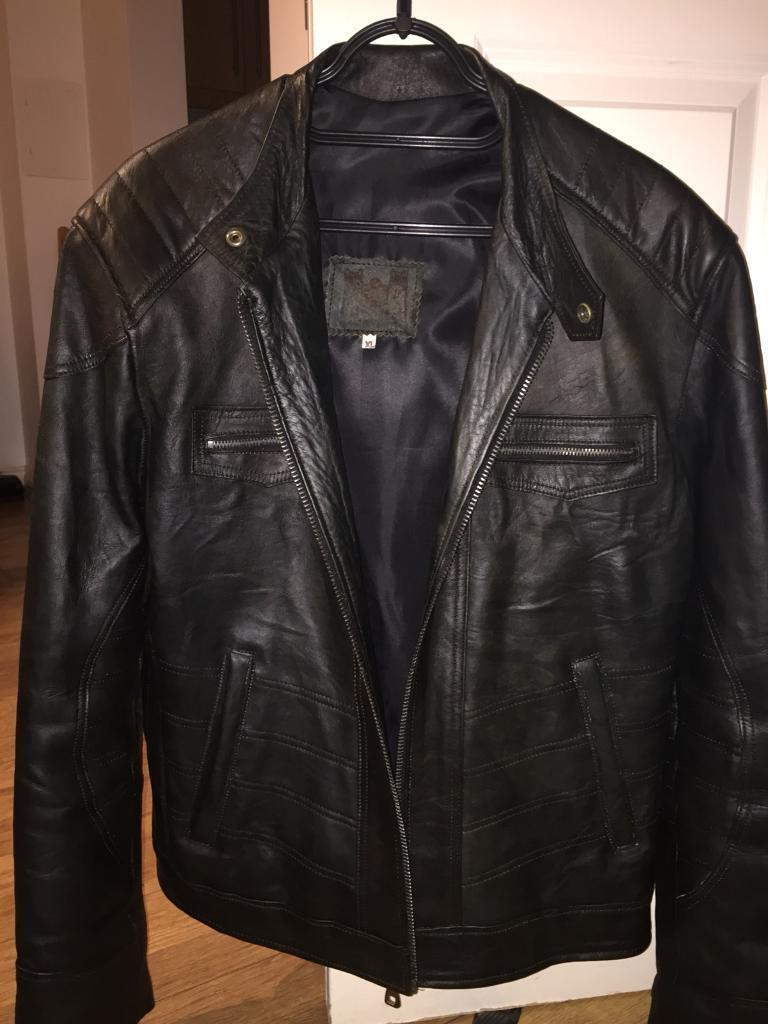 Very good condition real leather jacket