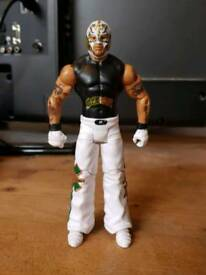 REY MYSTERIO WWE WRESTLING FIGURE RARE ATTIRE MINT CONDITION