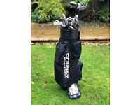 Donnay International Golf Clubs with bag