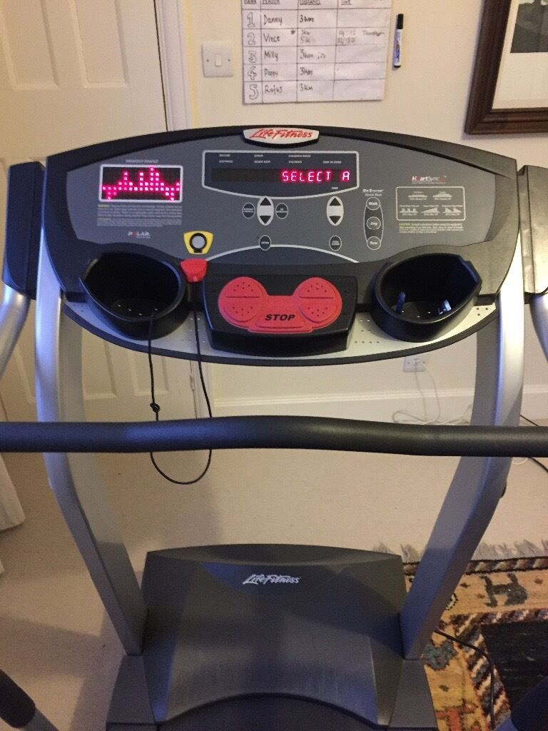 life fitness t3 5 treadmill in highgate london gumtree. Black Bedroom Furniture Sets. Home Design Ideas