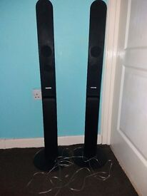 Samsung speaker system x2 towers only