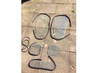 Super Dexta Lambourn cab door glass and rubbers