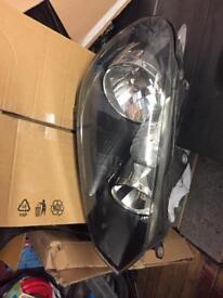 VOLKSWAGEN GOLF (5K) MK6 2009-13 OFFSIDE DRIVER'S HALOGEN HEADLIGHT