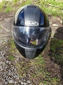 HJC full face/flip motorcycle helmet