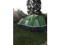 Voyager elite 6 with groundsheet and new carpet ....