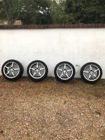 """5x100 Matrix 17"""" Alloy Wheels"""