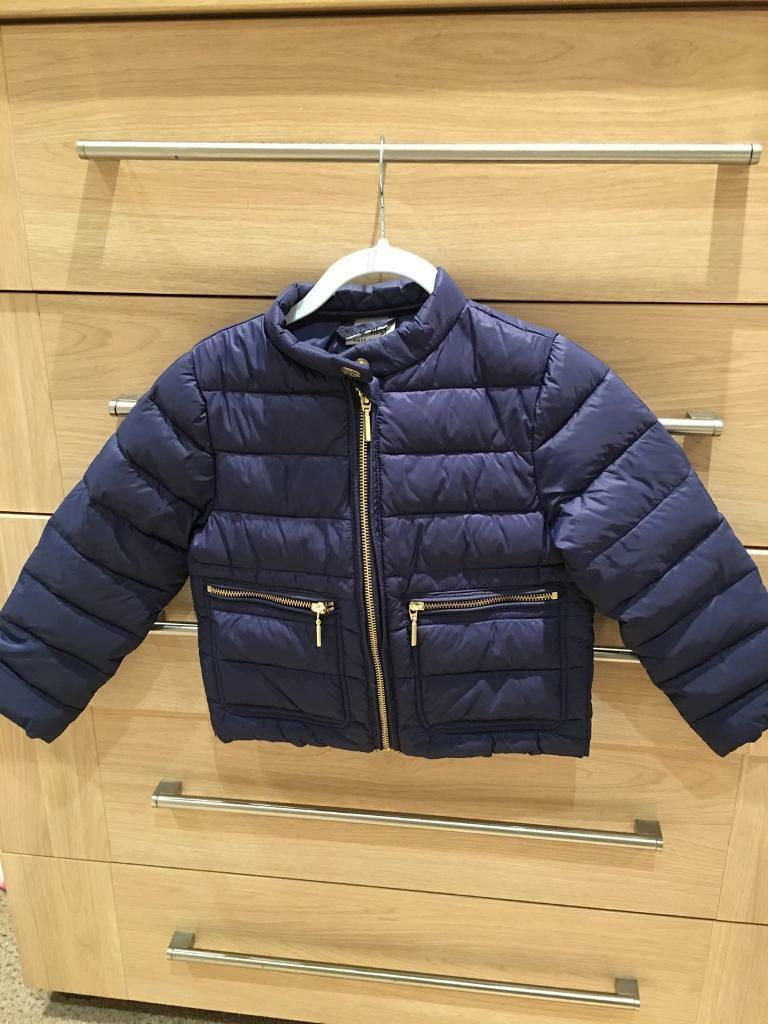 NEXT, navy jacket with gold zipps(Immaculate) Aged 3/4 years