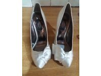 Ladies Wedding shoes by Schuh. Size 38 . New.