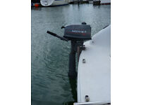 4hp 2 stroke outboard boat engine Mariner Long Shaft