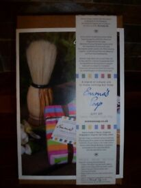 Christmas Gift - Emma's Soap Organic Shaving Gift Box Set - Brand New