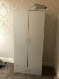 Single gray wardrobe in excellent condition