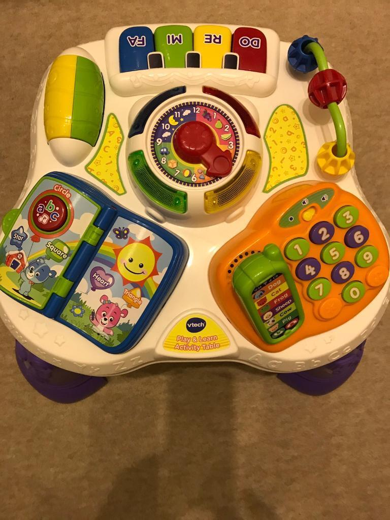 Vtech learning and activity table